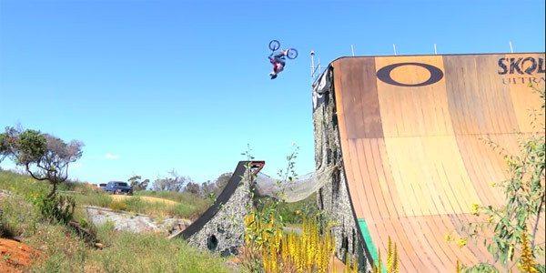 Zack Warden & Mykel Larrin Ride Giant Ramps