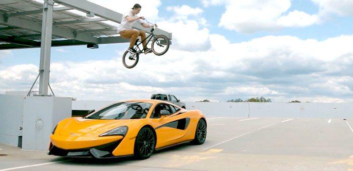 mclaren-570s-vs-bmx-bike-video