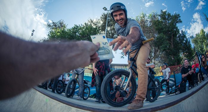 Money For Trick BMX Contest