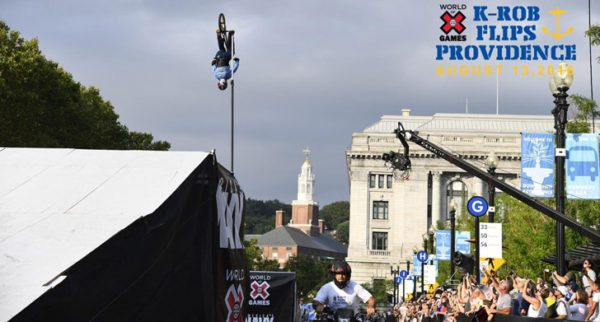 Kevin Robinson Pulled an 84 Foot Backflip – World Record