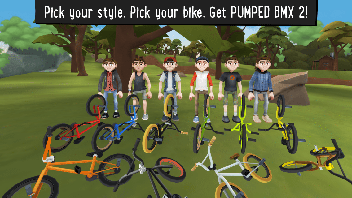 Pumped BMX 2 BMX Bike Games