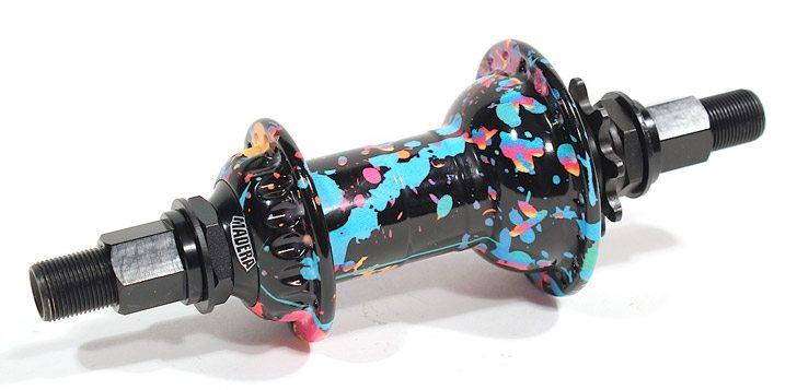 madera-bmx-cassette-hub-party-paint
