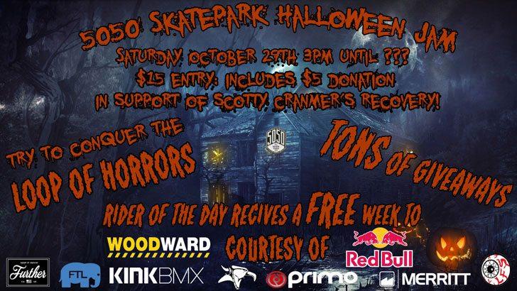 5050-skatepark-halloween-bmx-jam-flyer