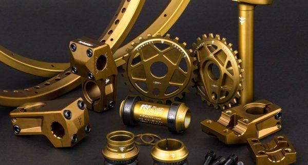 Flybikes – 2017 Dark Gold Parts