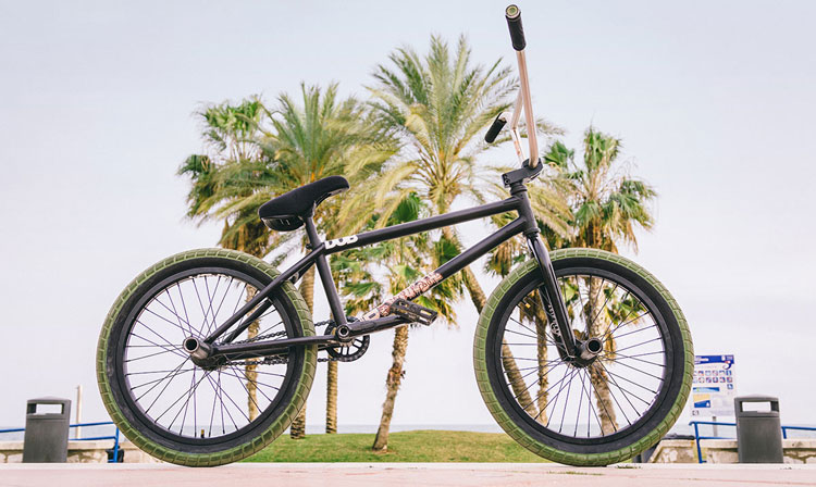 Sam Jones BSD BMX Bike Check