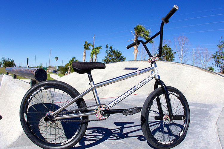 Chad DeGroot BMX Bike Check Profile Racing