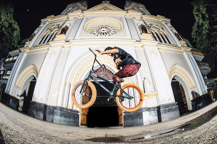 Julian Molina One Leg BMX Rider