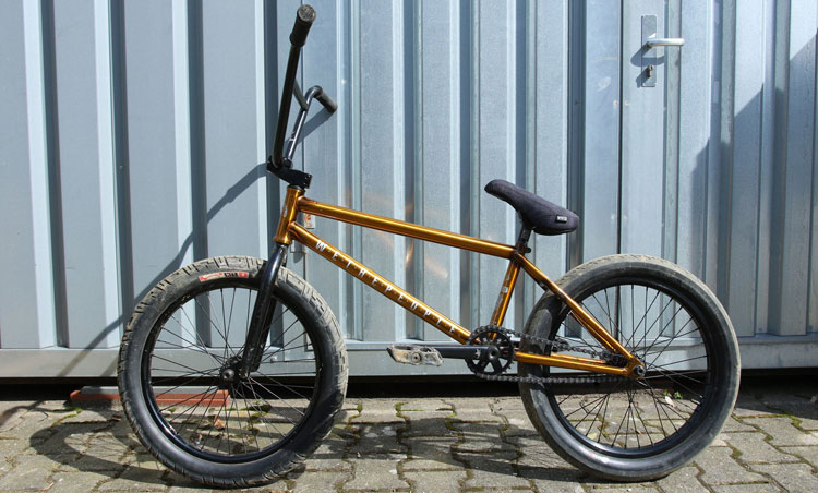 Max Gaertig Wethepeople BMX Buck Bike Check