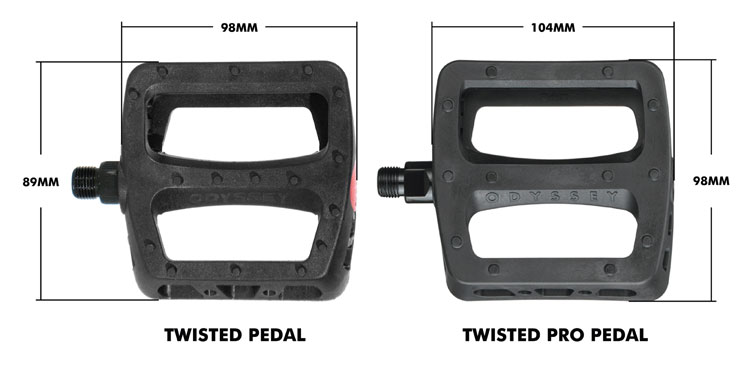 Odyssey BMX Twisted Pro Pedals