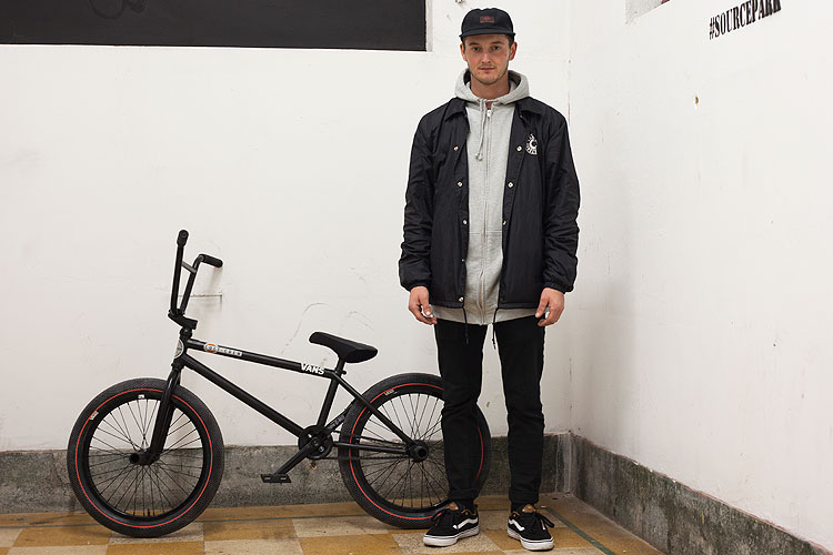 Ollie Shields BMX bike check Cult The Shadow Conspiracy