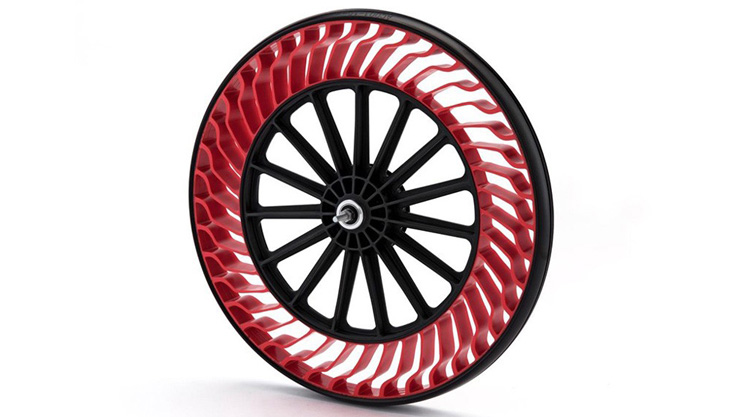 Bridgestone Air-Free Bicycle Tire