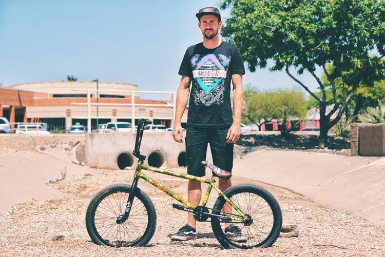 Eric Bahlman BMX Bike Check Volume Bikes Voyager