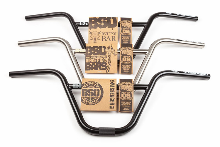 BSD Gorilla Grip Over Size Bars and Stem BMX