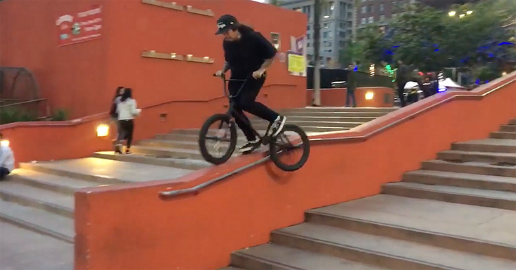 Liquor Store Locals BMX video