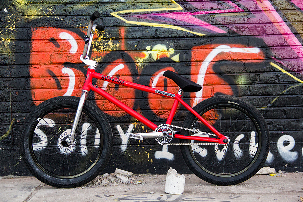 Subrosa Brand Lahsaan Kobza Code Bike Check BMX