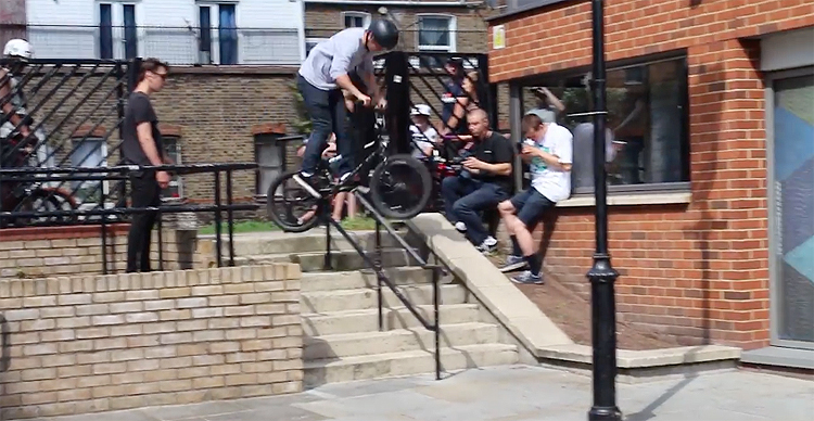 Metal Pegs Street Jam London 2017