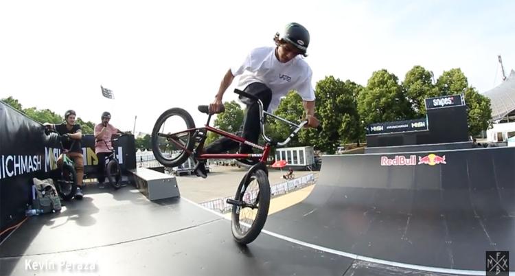Munich Mash 2017 BMX Spine Ramp Practice Video