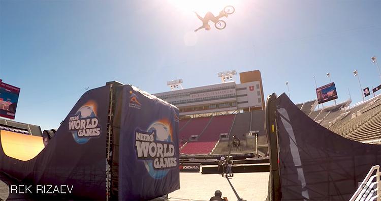 Nitro World Games 2017 BMX Semi-Finals Video