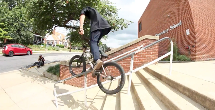 The Daily Grind Washington DC BMX video