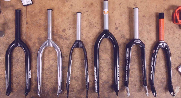 Dan's Comp Get Tech Series BMX fork