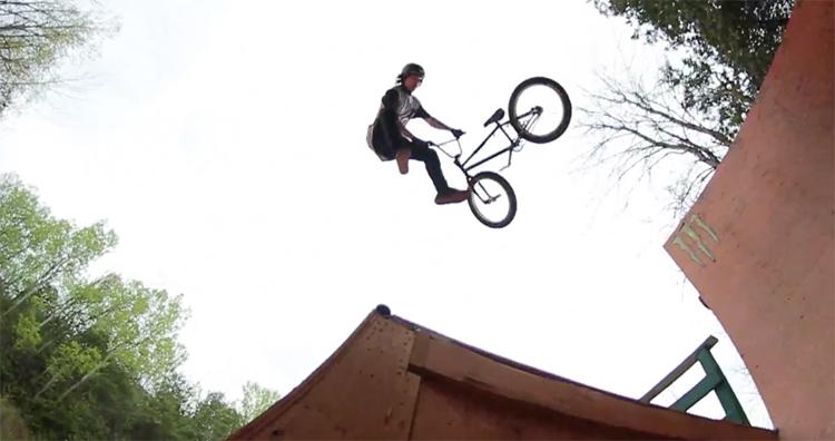 DK Bicycles Mike Varga 2017 BMX video