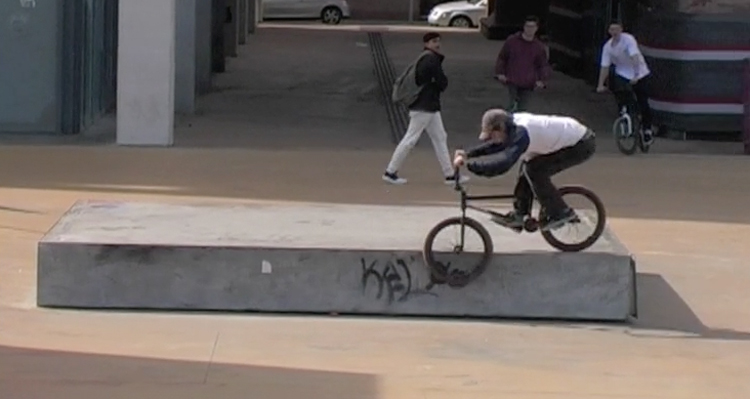 Mirco Andreani Barcelona BMX Video