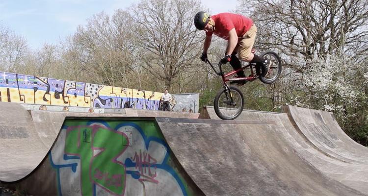 Neil Waddington Forty Something BMX video