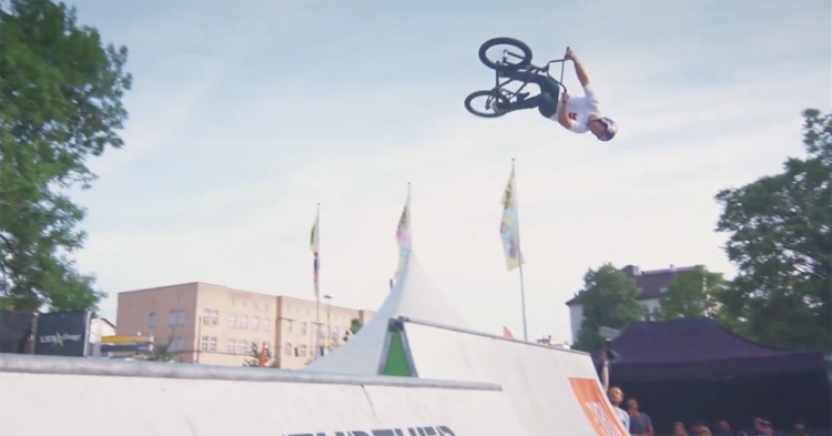 Ride Further Modular Festival 2017 BMX video