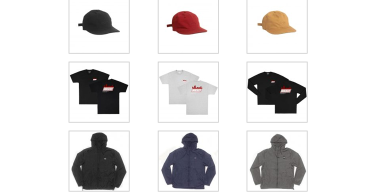 90East S2017 Apparel
