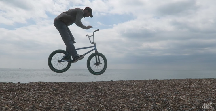 Billy Perry BMX Road Trip In England
