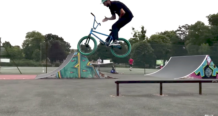 Billy Perry UK BMX Road Trip part 2