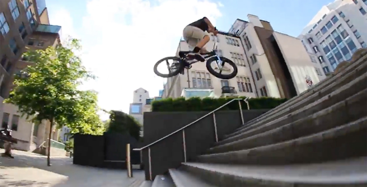 Felipe Manerin London BMX video