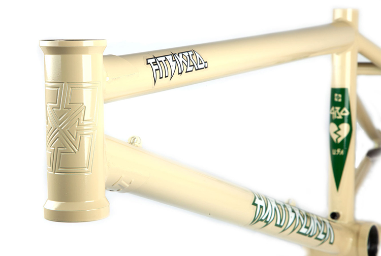 Fit Bike Co. Hartbreaker BMX Frame Beige Hornet