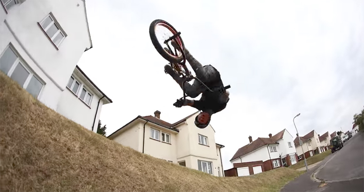 Mark Webb Air It Flair It BMX video