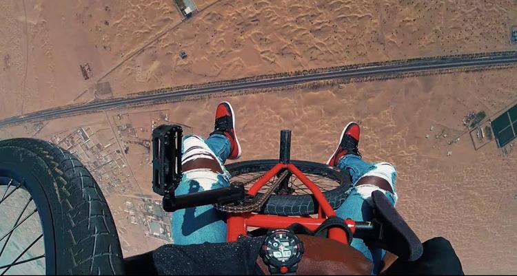 """Nigel Sylvester """"GO!"""" Dubai BMX Video"""