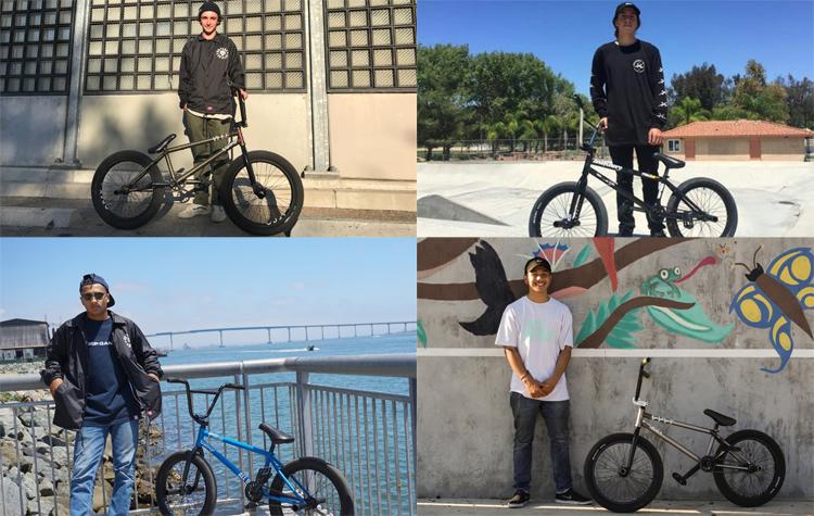 Odyssey BMX Flow Team 2017
