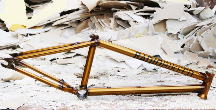 Radio Bikes Fox Frame BMX