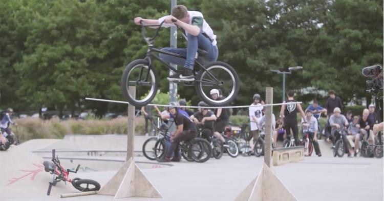 Shadow Conspiracy Level Jam 2017 BMX video