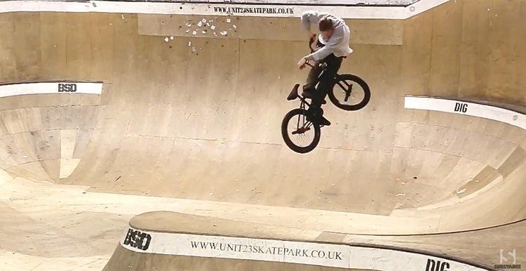 Substance In The City BMX Video Unit 23 Skatepark