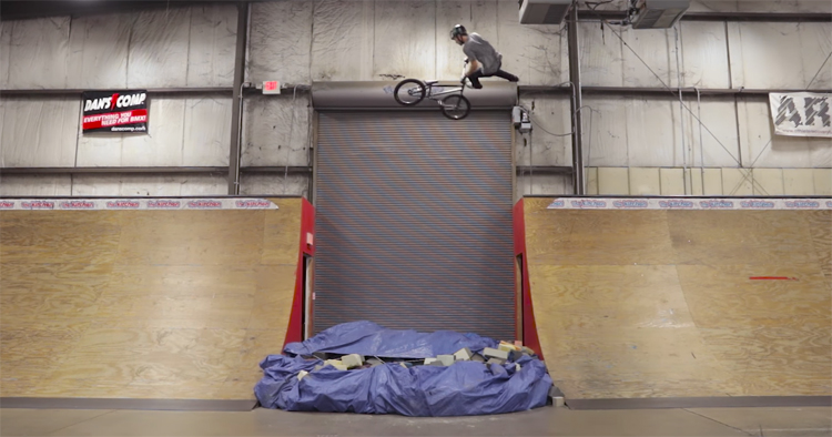 Colton Walker Destroys Kitchen Skatepark BMX video