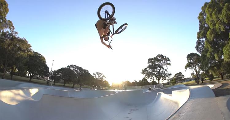 Five Dock Skatepark Sydney Australia BMX video