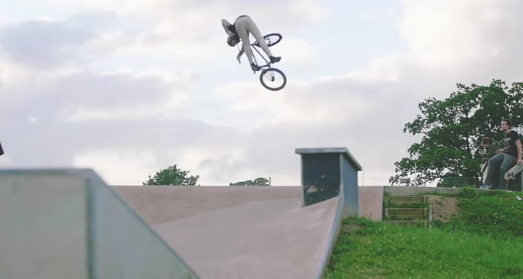GT Bicycles Jay Cowley Spain BMX video