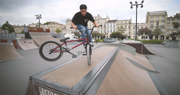 Jesse Le Sommer Dickies BMX video