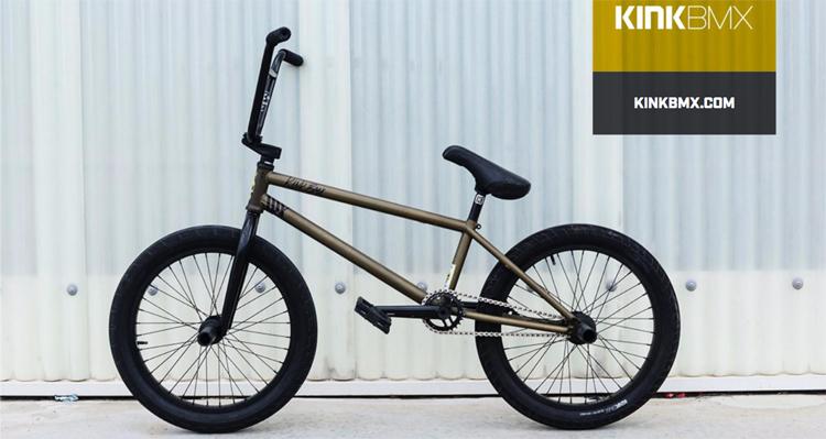 Kink BMX Brock Olive Bike Check BMX