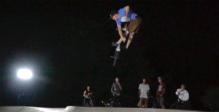 Pusher BMX DTC Skatepark After Dark BMX video