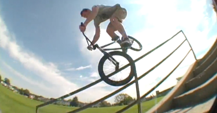 Rainer Etsweiler and Carl Espy BMX Video