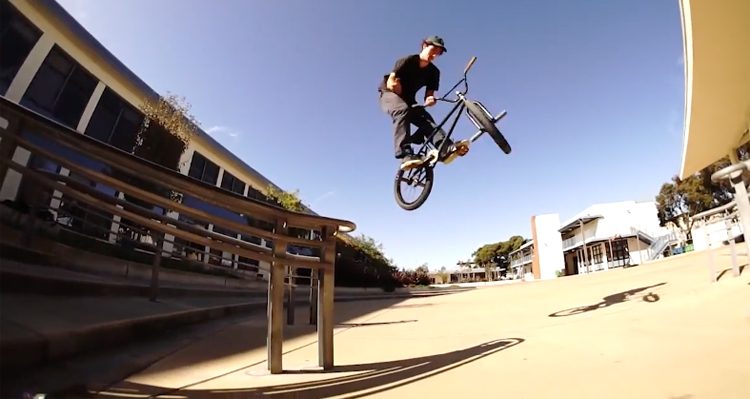 Don't Waste The Tape In The Bay BMX Video