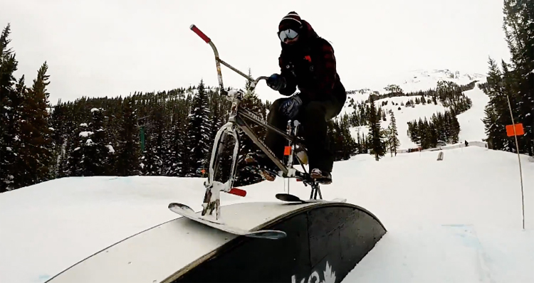 Drifter Snow Bikes Alberta Road Trip BMX video