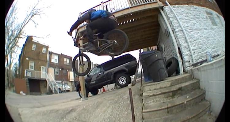Jib Tape 4 Atown Trash BMX video