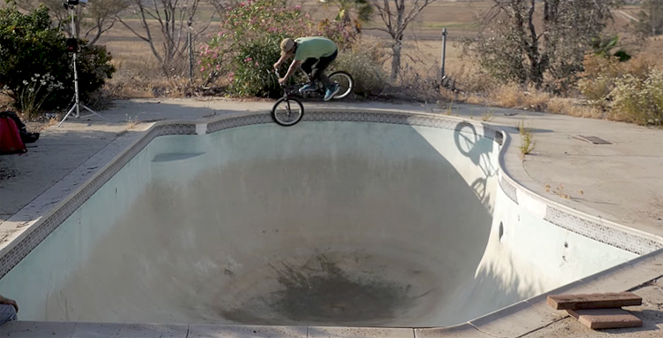 Mike Escamilla Real Time BMX video